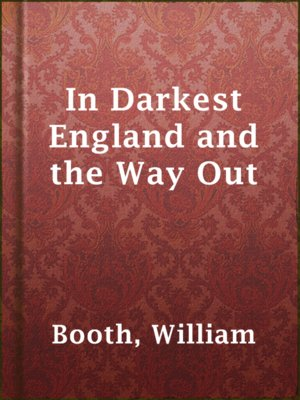cover image of In Darkest England and the Way Out