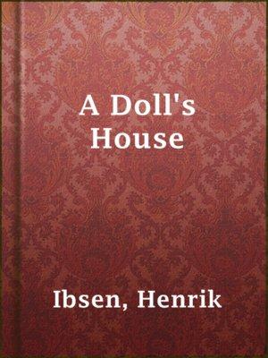 Pdf ibsen dolls a henrik house