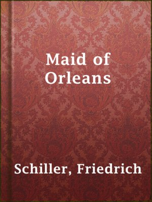 cover image of Maid of Orleans