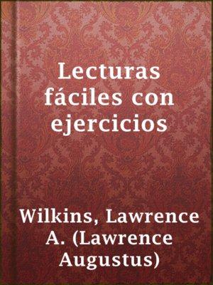 cover image of Lecturas fáciles con ejercicios