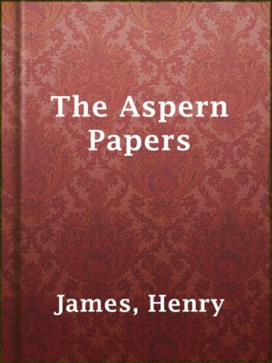 cover image of The Aspern Papers