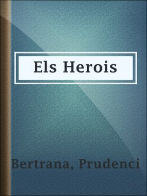 cover image of Els Herois