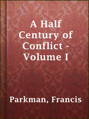 cover image of A Half Century of Conflict - Volume I