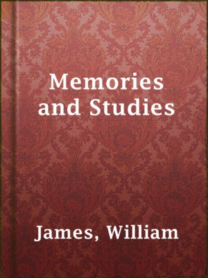 cover image of Memories and Studies