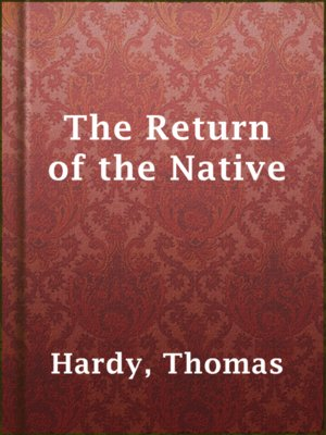 cover image of The Return of the Native