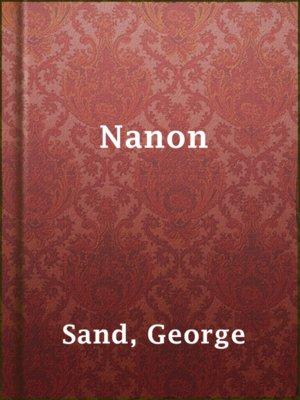 cover image of Nanon