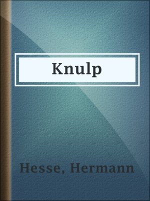 cover image of Knulp