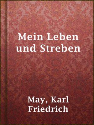 cover image of Mein Leben und Streben
