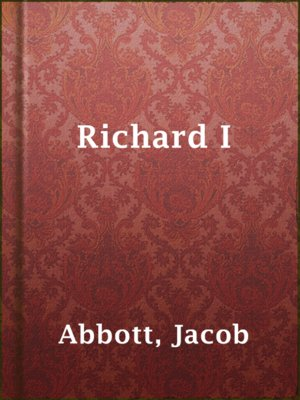 cover image of Richard I