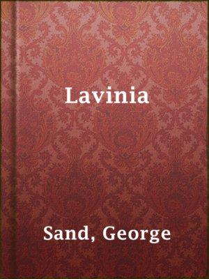 cover image of Lavinia
