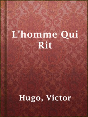 cover image of L'homme Qui Rit