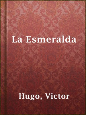 cover image of La Esmeralda