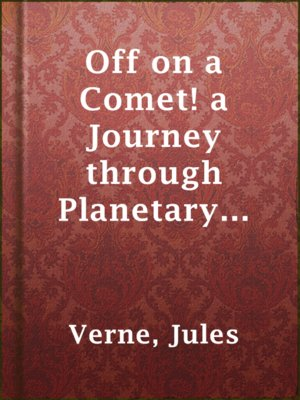 cover image of Off on a Comet! a Journey through Planetary Space