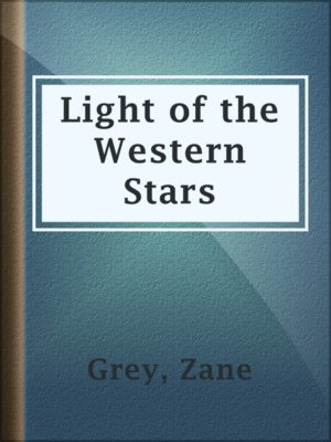 cover image of Light of the Western Stars