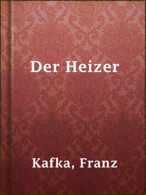 cover image of Der Heizer