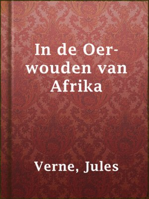 cover image of In de Oer-wouden van Afrika