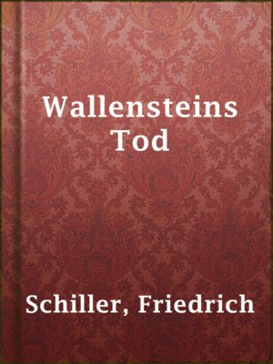 cover image of Wallensteins Tod