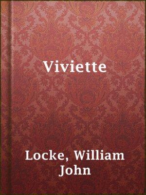 cover image of Viviette