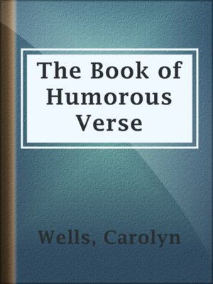 cover image of The Book of Humorous Verse