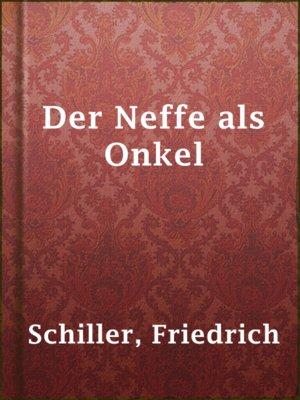 cover image of Der Neffe als Onkel