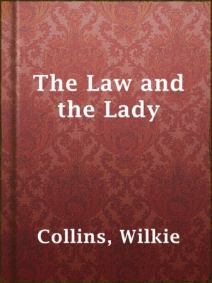 cover image of The Law and the Lady