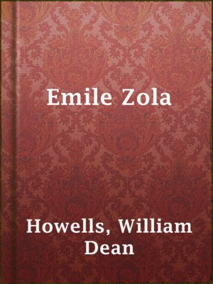 cover image of Emile Zola