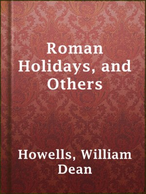 cover image of Roman Holidays, and Others