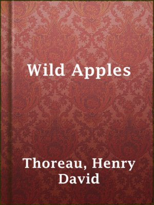 cover image of Wild Apples