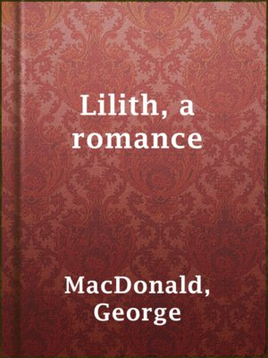 cover image of Lilith, a romance