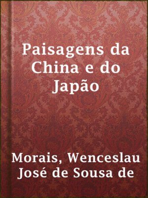 cover image of Paisagens da China e do Japão
