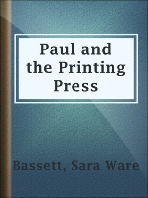 cover image of Paul and the Printing Press