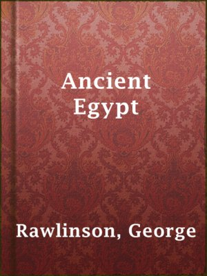 cover image of Ancient Egypt