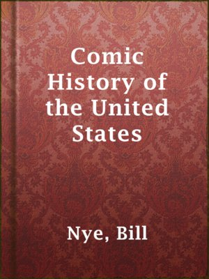 cover image of Comic History of the United States