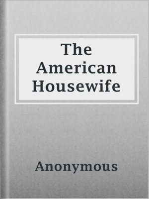 cover image of The American Housewife
