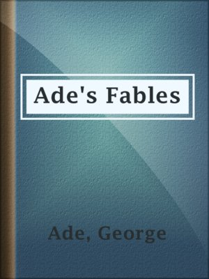 cover image of Ade's Fables
