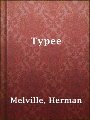 cover image of Typee