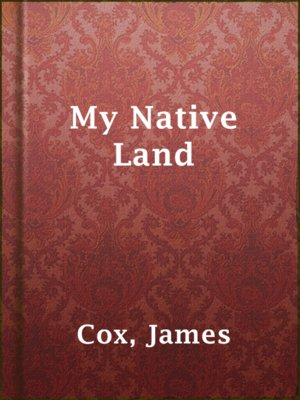 cover image of My Native Land