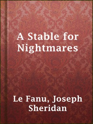 cover image of A Stable for Nightmares