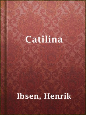 cover image of Catilina
