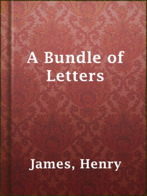 cover image of A Bundle of Letters