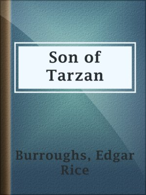 cover image of Son of Tarzan