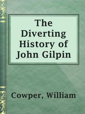 cover image of The Diverting History of John Gilpin