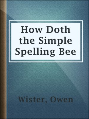 cover image of How Doth the Simple Spelling Bee