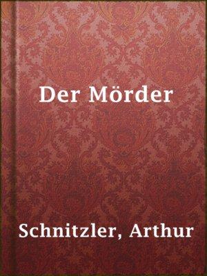 cover image of Der Mörder