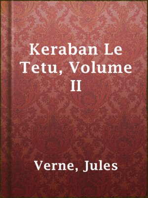 cover image of Keraban Le Tetu, Volume II