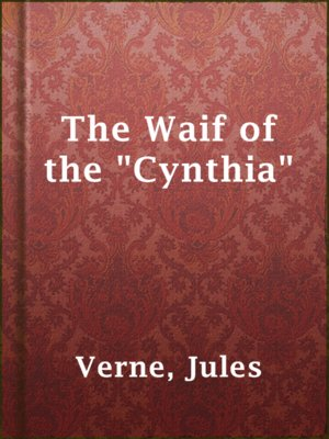 """cover image of The Waif of the """"Cynthia"""""""