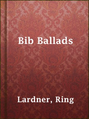 cover image of Bib Ballads