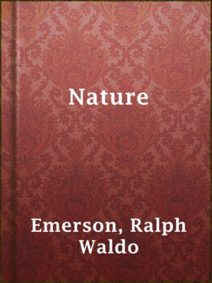 cover image of Nature