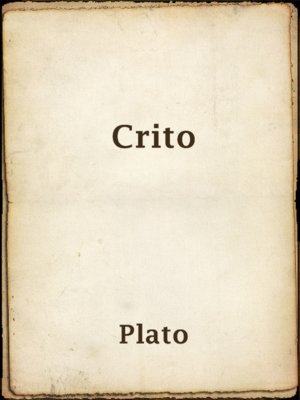 cover image of Crito