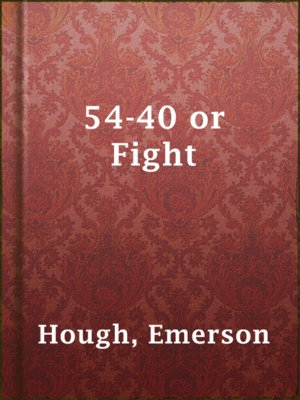 cover image of 54-40 or Fight